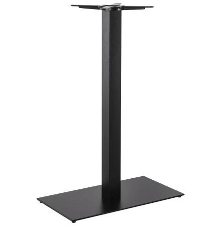 Pied de table 'NERO XL' 110 noir en métal
