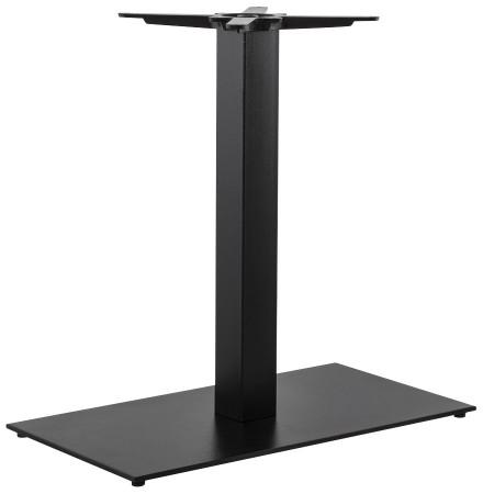 Pied de table 'NERO XL' 75 noir en métal