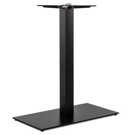 Pied de table 'NERO XL' 90 noir en métal