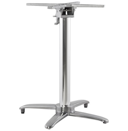 Pied de table 'PRATIK' 75 en aluminium