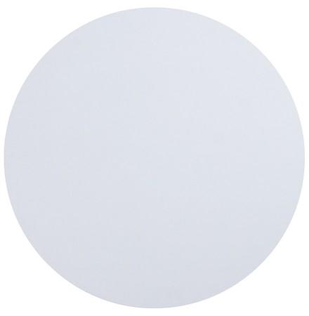 Plateau de table 'RINGO' rond Ø 70cm blanc