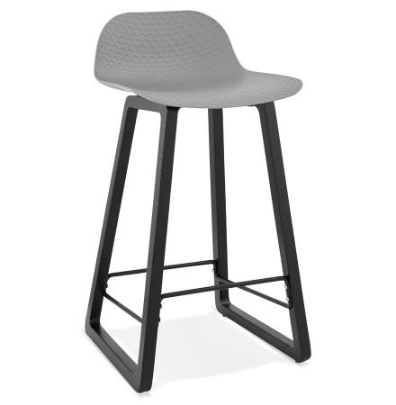 Tabouret snack mi-hauteur 'SASHIMI MINI' gris design