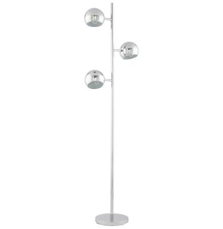 Lampe sur pied 'TRYA' avec 3 abat-jours orientables en métal