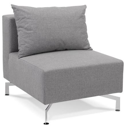 Élément de canapé modulable 'VOLTAIRE SEAT' gris - module 1 place