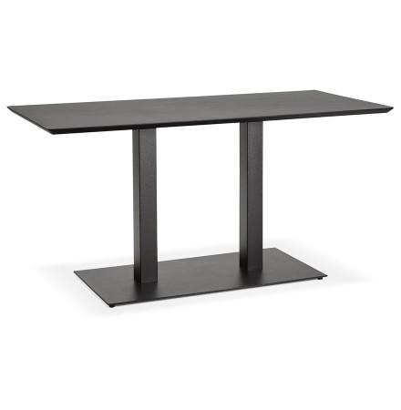 Table / bureau design 'ZUMBA' noir - 150x70 cm