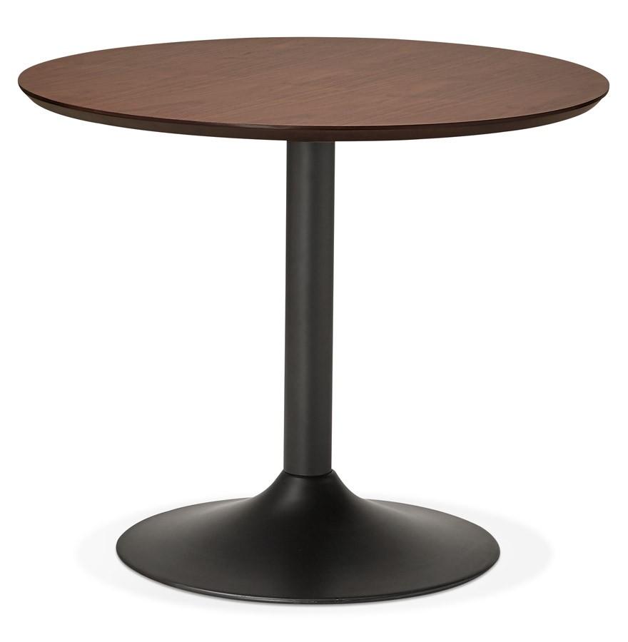 table de bureau ronde chef en bois 90 cm table diner. Black Bedroom Furniture Sets. Home Design Ideas
