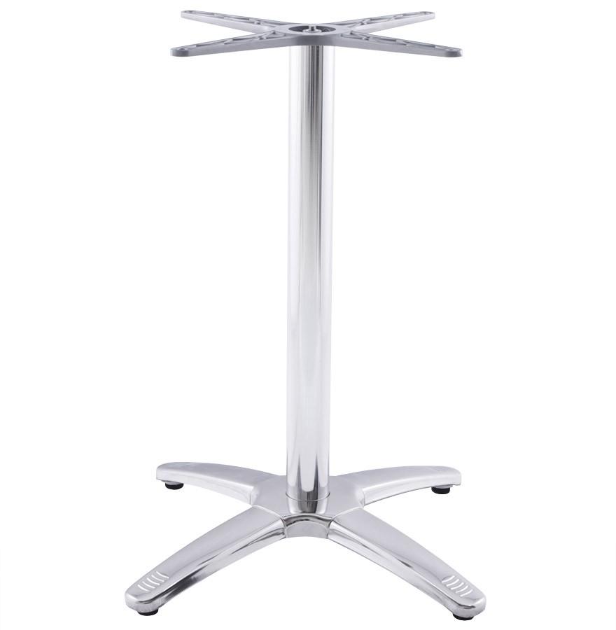 Pied De Table Exterieur.Pied De Table Chiko 75 En Metal Chrome Pour Interieur Et Exterieur