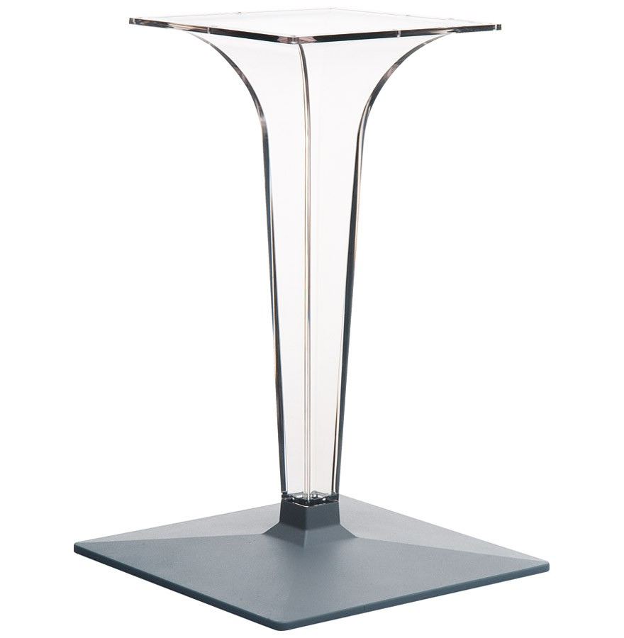 pied de table dimo 70 transparent tr s design. Black Bedroom Furniture Sets. Home Design Ideas