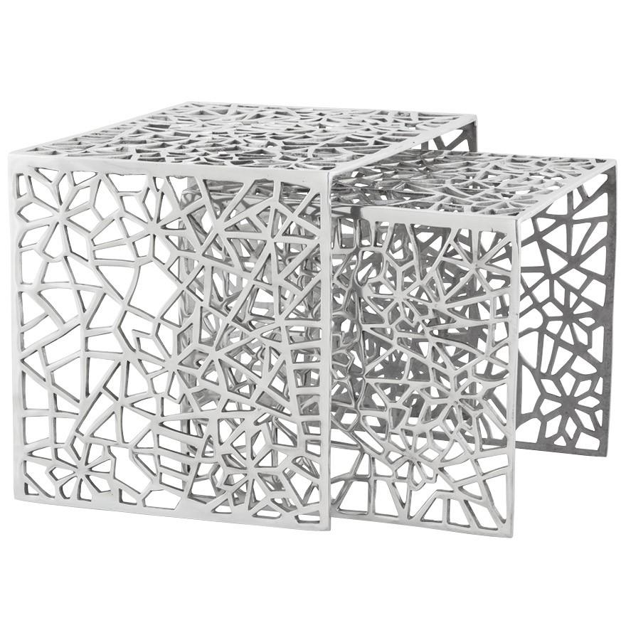 table d 39 appoint haki en aluminium table design. Black Bedroom Furniture Sets. Home Design Ideas