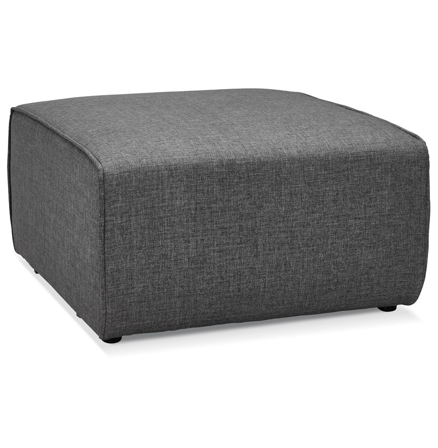 pouf de canap infinity one gris fonc canap modulable. Black Bedroom Furniture Sets. Home Design Ideas