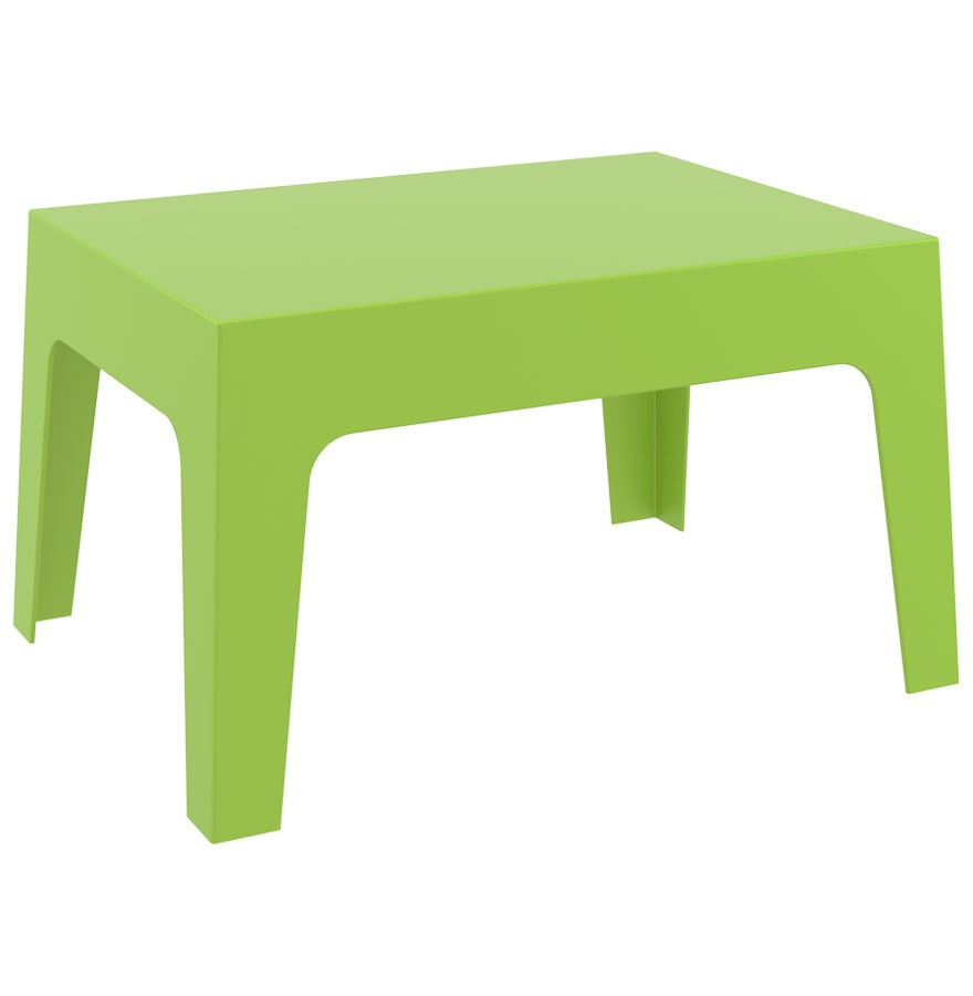 table basse de jardin marto verte en mati re plastique. Black Bedroom Furniture Sets. Home Design Ideas