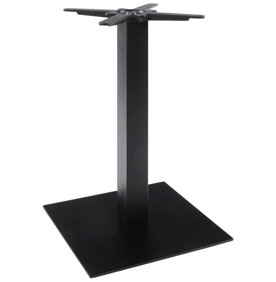 Pied De Table Nero 75 Noir En M Tal Alterego Design