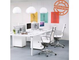 Fauteuil de bureau moderne 'AIR' blanc