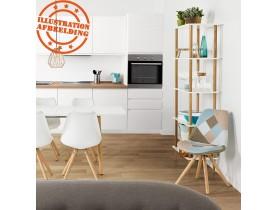 Chaise design 'ARTIST' style patchwork
