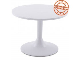 Pied de table 'BIANKO' 45 en métal blanc