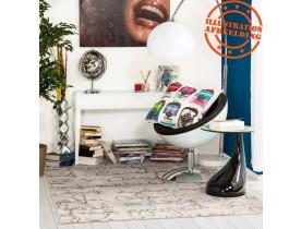 Tapis design de salon 'BLABLA' 160/230 cm à poils courts