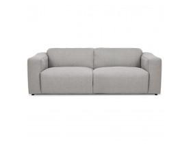 Canapé droit 'CANYON LARGE' gris clair - canapé 2,5 places design