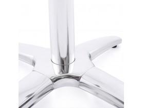 Pied de table 'CHIKO' 110 en métal chromé pour intérieur et extérieur
