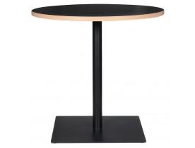 Table ronde 'FUSION ROUND' noire - Ø 80 cm