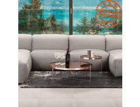 Table basse 'KOLOS MEDIUM' couleur cuivre