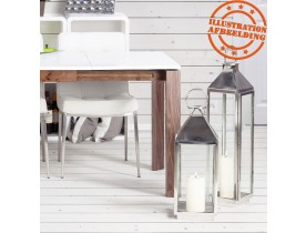 Lanterne 'LIWA MINI' en aluminium et verre