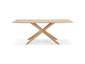 Table de salle à manger 'MANITOU' en chêne massif - 200x100 cm