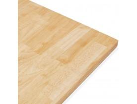 Plateau de table 'MASSIVO' carré en bois massif - 70x70 cm