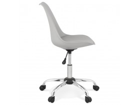 Chaise de bureau 'MONKY' grise design