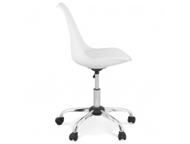 Chaise de bureau 'MONKY' blanche design