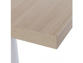 Plateau de table 'NATO' carré 60x60 cm en bois finition naturelle