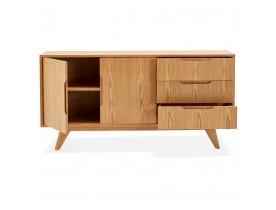 Bahut design 'PORTOBELLO' en bois finition naturelle