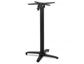 Pied de table 'PRATIK' 110 en aluminium noir intérieur/extérieur