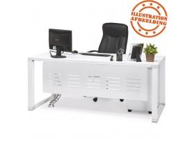 Panneau de modestie 'SECRET' blanc pour bureau