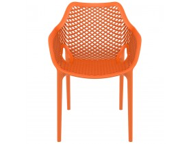 Chaise de jardin / terrasse 'SISTER' orange en matière plastique