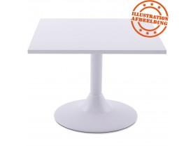 Plateau de table 'SPANO' 60x60cm blanc carré