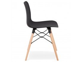 Chaise scandinave 'TONIC' noire design