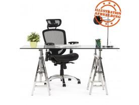 Fauteuil de bureau ergonomique 'TYPHON' noir