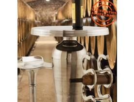 Porte-bouteilles 'VINUM' en aluminium
