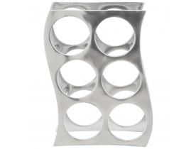 Porte-bouteilles 'WAIN' en aluminium