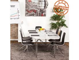 Table à dîner / de réunion extensible 'XTEND' blanche - 170(270)x100 cm