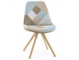 Chaise design ARTIST style patchwork - Alterego