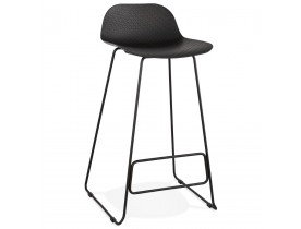 Tabouret de bar design 'BABYLOS' noir design