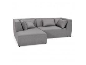 Canapé d'angle BELAGIO ANGLE gris clair - Alterego