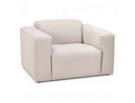 Fauteuil de salon design 1 place 'CANYON MICRO' beige