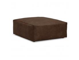 Pouf de canapé design 'COYOT ONE' brun