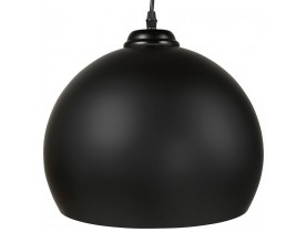 Suspension boule 'DOUGLAS' noire design