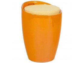 Tabouret coffre d'appoint 'GUM' orange