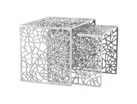 Table d'appoint 'HAKI' en aluminium