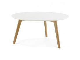 Table basse de salon ronde 'KOFY' style scandinave