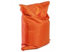 Pouf 'LAZY MINI' orange/orange 130x100cm